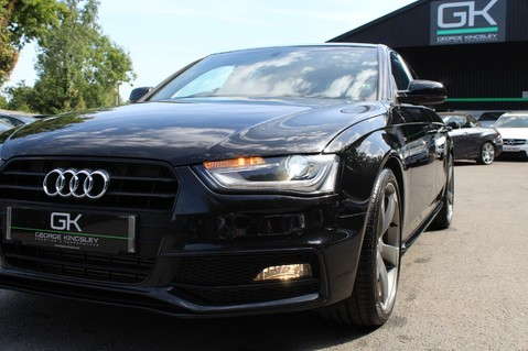Audi A4 TFSI BLACK EDITION AUTO - HEATED LEATHER/DAB/BANG+OLUFSEN/XENONS - F/A/S/H 22