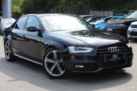 Audi A4 TFSI BLACK EDITION AUTO - HEATED LEATHER/DAB/BANG+OLUFSEN/XENONS - F/A/S/H 1