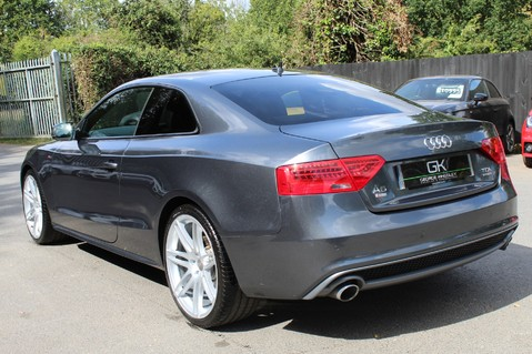 Audi A5 TDI QUATTRO S LINE - SAT NAV/DAB RADIO/LEATHER/20S/BLACK PACK/ 2