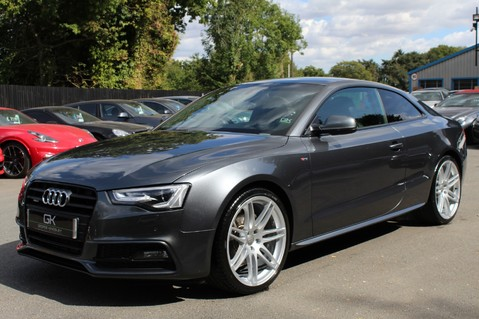 Audi A5 TDI QUATTRO S LINE - SAT NAV/DAB RADIO/LEATHER/20S/BLACK PACK/ 8