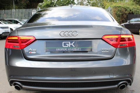 Audi A5 TDI QUATTRO S LINE - SAT NAV/DAB RADIO/LEATHER/20S/BLACK PACK/ 19