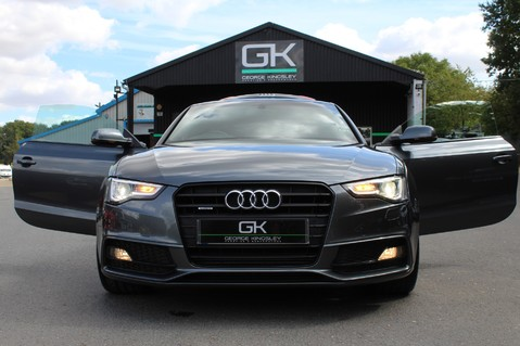 Audi A5 TDI QUATTRO S LINE - SAT NAV/DAB RADIO/LEATHER/20S/BLACK PACK/ 21