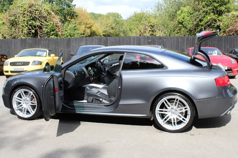 Audi A5 TDI QUATTRO S LINE - SAT NAV/DAB RADIO/LEATHER/20S/BLACK PACK/ 23