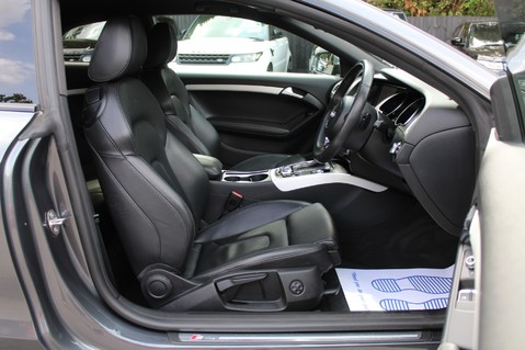 Audi A5 TDI QUATTRO S LINE - SAT NAV/DAB RADIO/LEATHER/20S/BLACK PACK/ 33