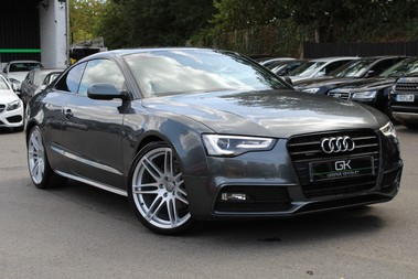 Audi A5 TDI QUATTRO S LINE - SAT NAV/DAB RADIO/LEATHER/20S/BLACK PACK/