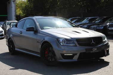 Mercedes-Benz C Class C63 AMG EDITION 507 - RARE CAR - DESIGNO MAGNO PAINT - DISTRONIC