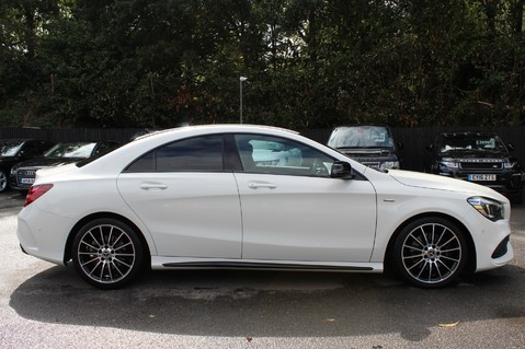 Mercedes-Benz Cla Class CLA 220 D WHITEART EDITION - EURO 6 - RARE CAR - ONE OWNER -LIKE AMG LINE 4