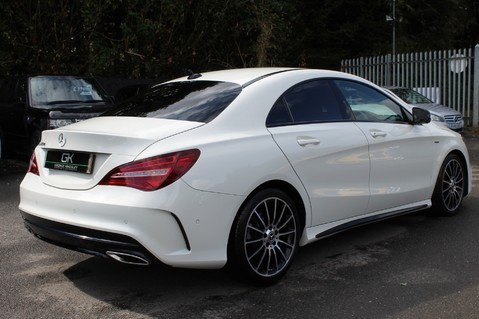 Mercedes-Benz Cla Class CLA 220 D WHITEART EDITION - EURO 6 - RARE CAR - ONE OWNER -LIKE AMG LINE 5