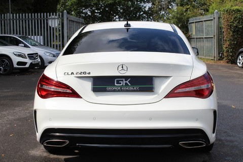 Mercedes-Benz Cla Class CLA 220 D WHITEART EDITION - EURO 6 - RARE CAR - ONE OWNER -LIKE AMG LINE 6