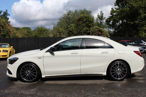 Mercedes-Benz Cla Class CLA 220 D WHITEART EDITION - EURO 6 - RARE CAR - ONE OWNER -LIKE AMG LINE 7