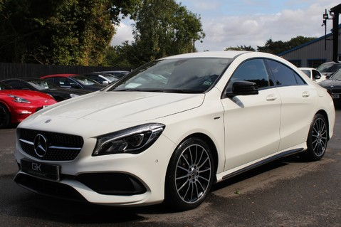 Mercedes-Benz Cla Class CLA 220 D WHITEART EDITION - EURO 6 - RARE CAR - ONE OWNER -LIKE AMG LINE 8