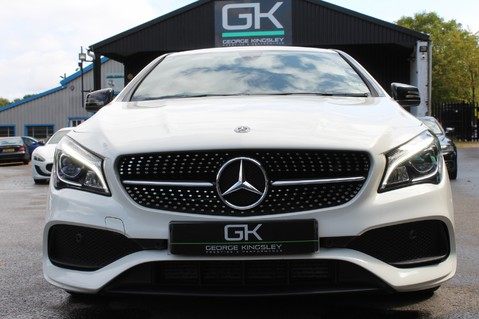 Mercedes-Benz Cla Class CLA 220 D WHITEART EDITION - EURO 6 - RARE CAR - ONE OWNER -LIKE AMG LINE 9