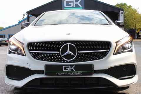 Mercedes-Benz Cla Class CLA 220 D WHITEART EDITION - EURO 6 - RARE CAR - ONE OWNER -LIKE AMG LINE 13