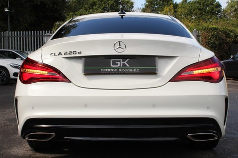 Mercedes-Benz Cla Class CLA 220 D WHITEART EDITION - EURO 6 - RARE CAR - ONE OWNER -LIKE AMG LINE 14