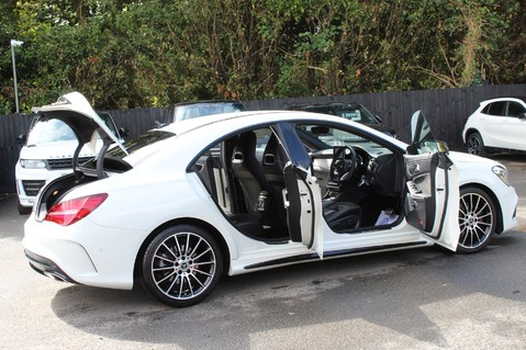 Mercedes-Benz Cla Class CLA 220 D WHITEART EDITION - EURO 6 - RARE CAR - ONE OWNER -LIKE AMG LINE 16