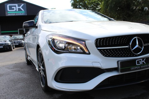 Mercedes-Benz Cla Class CLA 220 D WHITEART EDITION - EURO 6 - RARE CAR - ONE OWNER -LIKE AMG LINE 19