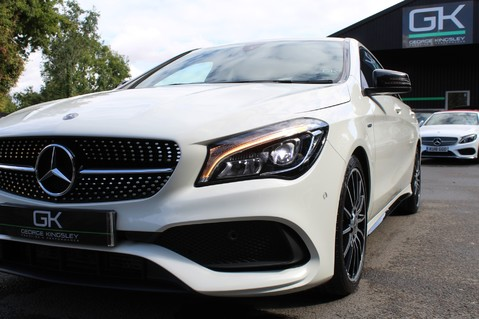 Mercedes-Benz Cla Class CLA 220 D WHITEART EDITION - EURO 6 - RARE CAR - ONE OWNER -LIKE AMG LINE 20