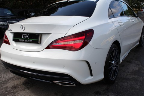 Mercedes-Benz Cla Class CLA 220 D WHITEART EDITION - EURO 6 - RARE CAR - ONE OWNER -LIKE AMG LINE 22