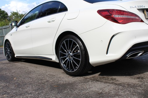 Mercedes-Benz Cla Class CLA 220 D WHITEART EDITION - EURO 6 - RARE CAR - ONE OWNER -LIKE AMG LINE 30