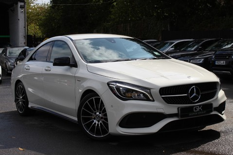 Mercedes-Benz Cla Class CLA 220 D WHITEART EDITION - EURO 6 - RARE CAR - ONE OWNER -LIKE AMG LINE 1