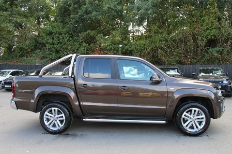 Volkswagen Amarok DC V6 TDI HIGHLINE 4MOTION - CHROME BARS - TWO TONE LEATHER - ONE OWNER 4