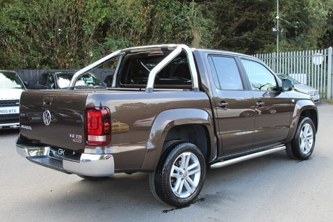 Volkswagen Amarok DC V6 TDI HIGHLINE 4MOTION - CHROME BARS - TWO TONE LEATHER - ONE OWNER 5