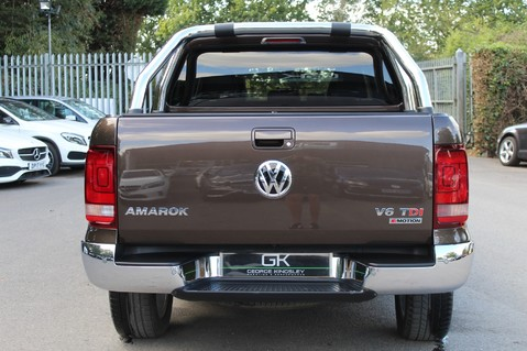 Volkswagen Amarok DC V6 TDI HIGHLINE 4MOTION - CHROME BARS - TWO TONE LEATHER - ONE OWNER 6