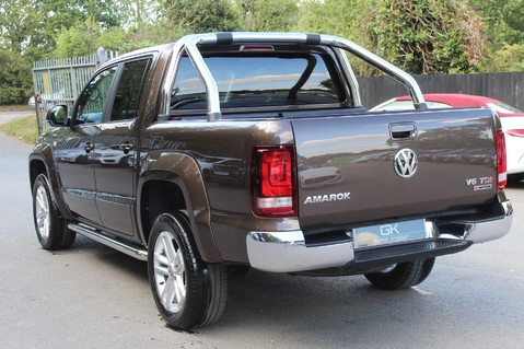 Volkswagen Amarok DC V6 TDI HIGHLINE 4MOTION - CHROME BARS - TWO TONE LEATHER - ONE OWNER 2