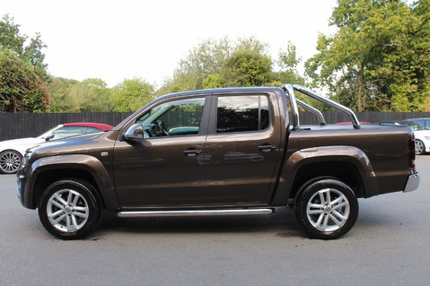 Volkswagen Amarok DC V6 TDI HIGHLINE 4MOTION - CHROME BARS - TWO TONE LEATHER - ONE OWNER 7