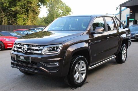 Volkswagen Amarok DC V6 TDI HIGHLINE 4MOTION - CHROME BARS - TWO TONE LEATHER - ONE OWNER 8