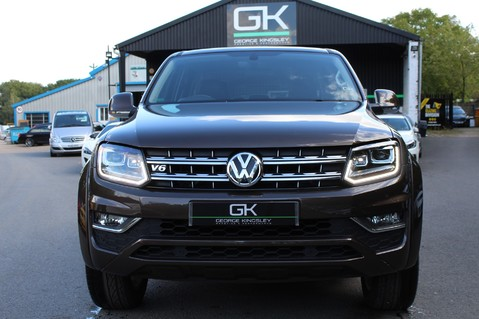 Volkswagen Amarok DC V6 TDI HIGHLINE 4MOTION - CHROME BARS - TWO TONE LEATHER - ONE OWNER 9
