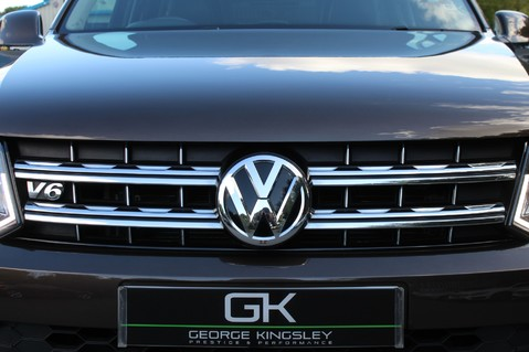 Volkswagen Amarok DC V6 TDI HIGHLINE 4MOTION - CHROME BARS - TWO TONE LEATHER - ONE OWNER 14