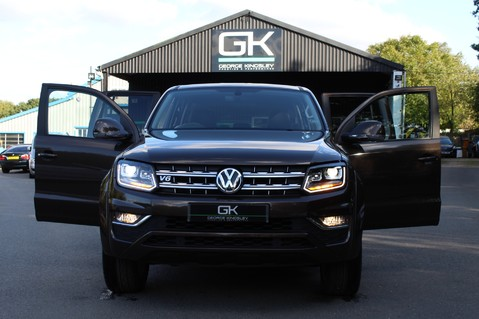 Volkswagen Amarok DC V6 TDI HIGHLINE 4MOTION - CHROME BARS - TWO TONE LEATHER - ONE OWNER 17
