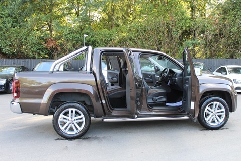 Volkswagen Amarok DC V6 TDI HIGHLINE 4MOTION - CHROME BARS - TWO TONE LEATHER - ONE OWNER 18