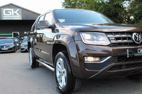 Volkswagen Amarok DC V6 TDI HIGHLINE 4MOTION - CHROME BARS - TWO TONE LEATHER - ONE OWNER 22