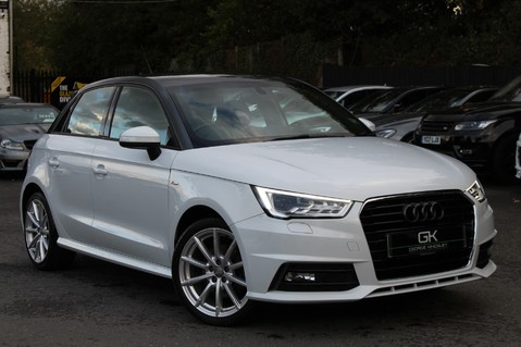 Audi A1 SPORTBACK TFSI S LINE -SAT NAV/CRUISE/PARKING SENSORS/HIGHBEAM ASSIST/2TONE 1