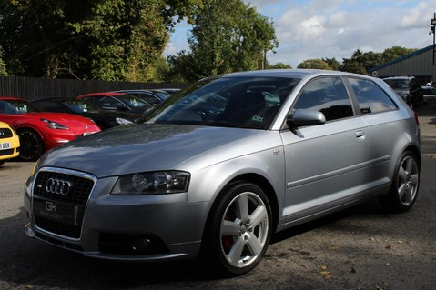 Audi A3 TFSI S LINE - FULL LEATHER/BLUETOOTH/TINTS/FSH/2 KEYS - MOT SEPT 2020 8