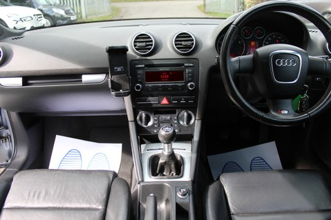 Audi A3 TFSI S LINE - FULL LEATHER/BLUETOOTH/TINTS/FSH/2 KEYS - MOT SEPT 2020 14