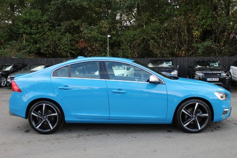 Volvo S60 D4 R-DESIGN LUX NAV - EURO 6 -CAMERA/DAB/HEATED LEATHER/REBEL BLUE 4