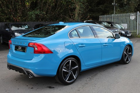 Volvo S60 D4 R-DESIGN LUX NAV - EURO 6 -CAMERA/DAB/HEATED LEATHER/REBEL BLUE 5