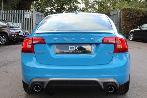 Volvo S60 D4 R-DESIGN LUX NAV - EURO 6 -CAMERA/DAB/HEATED LEATHER/REBEL BLUE 6