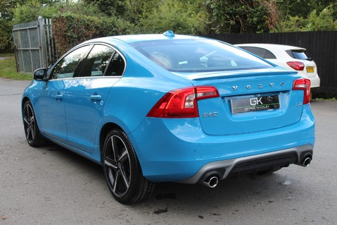 Volvo S60 D4 R-DESIGN LUX NAV - EURO 6 -CAMERA/DAB/HEATED LEATHER/REBEL BLUE 2