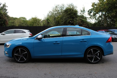 Volvo S60 D4 R-DESIGN LUX NAV - EURO 6 -CAMERA/DAB/HEATED LEATHER/REBEL BLUE 7