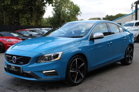 Volvo S60 D4 R-DESIGN LUX NAV - EURO 6 -CAMERA/DAB/HEATED LEATHER/REBEL BLUE 8