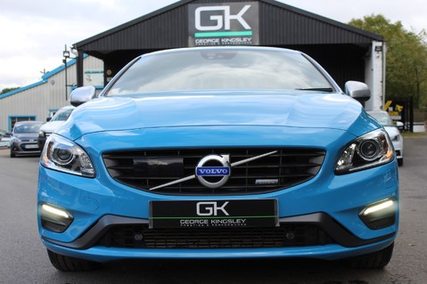 Volvo S60 D4 R-DESIGN LUX NAV - EURO 6 -CAMERA/DAB/HEATED LEATHER/REBEL BLUE 9