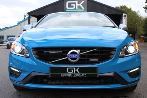 Volvo S60 D4 R-DESIGN LUX NAV - EURO 6 -CAMERA/DAB/HEATED LEATHER/REBEL BLUE 14