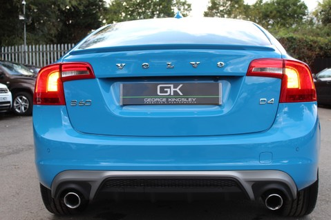 Volvo S60 D4 R-DESIGN LUX NAV - EURO 6 -CAMERA/DAB/HEATED LEATHER/REBEL BLUE 15