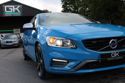Volvo S60 D4 R-DESIGN LUX NAV - EURO 6 -CAMERA/DAB/HEATED LEATHER/REBEL BLUE 21