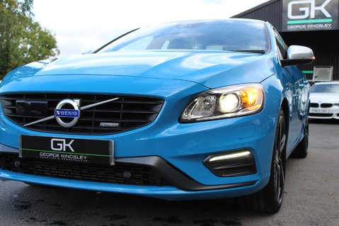 Volvo S60 D4 R-DESIGN LUX NAV - EURO 6 -CAMERA/DAB/HEATED LEATHER/REBEL BLUE 22