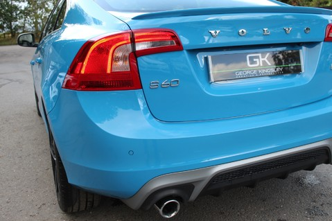 Volvo S60 D4 R-DESIGN LUX NAV - EURO 6 -CAMERA/DAB/HEATED LEATHER/REBEL BLUE 23